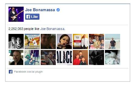 Joe Bonamassa on Facebook. 2,252,053 people like Joe Bonamassa. Yay!