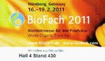 Biofach Hall 4, stand 430