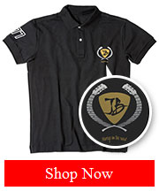 Joe Bonamassa JB Embroidered Pick Crest Polo