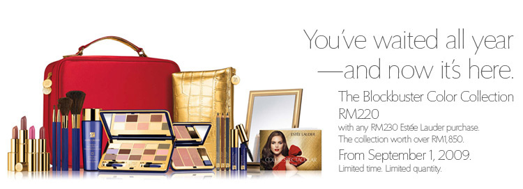 The Blockbuster Color Collection - RM220