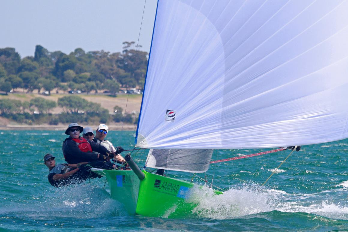 Festival of Sails 2014 Sportsboats. Image: Teri Dodds
